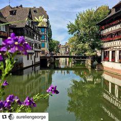 #VisitStrasbourg #VisitAlsace #Jaimelafrance #magnifiquefrance @aureliengeorge #Strasbourg #France #PetiteFrance #Architecture #Street #StreetPhotography #Water @strasbourgtourisme Strasbourg, Petite France, Alsace Lorraine, Architecture, Street, Places, Instagram Posts, Water, Alsace