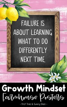 Inspirational Growth Mindset Posters (40 total) - Mindfulness Posters - Farmhouse Design - Decorate your elementary classroom bulletin boards with this printable set of inspirational Growth Mindset quote posters for kids. With 40 posters in all, it is the perfect way to build a motivational themed classroom or school counseling office. Each quote is engaging and inspires a growth mindset. #inspire #growthmindset #motivational #quotes #quoteposters #elementary #classroomdecor #middleschool Cool Bulletin Boards, Classroom Bulletin Boards, Classroom Posters, Classroom Decor, School Counseling Office, Elementary Counseling, Elementary Schools, Inspirational Quotes For Kids, Motivational Quotes
