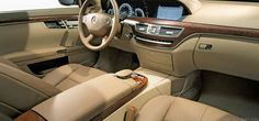 BMW 7 Series Limousine Sydney Interior