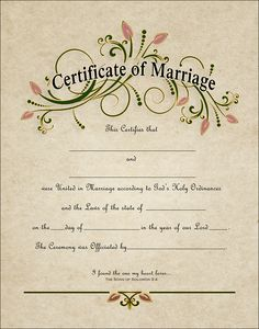 how to get a replacement wedding certificate
