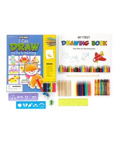 Look what I found on #zulily! 'I Can Draw' Craft Kit Set by SpiceBox #zulilyfinds
