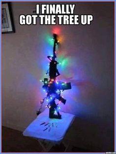 I finally got the tree up!