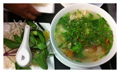 Yummy Wonton soup from Pho 24!