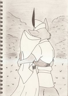 Robin Hood and maid Marian 4 by silverben