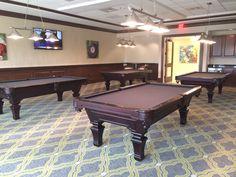 Olhausen Hampton With Ping Pong Top Olhausen Pool Table Installs - Olhausen hampton pool table