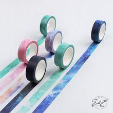 Cielo Sueño creativo Decorativo Japonés Cinta Adhesiva Masking Tape washi Diy Scrapbooking Útiles Escolares Papelería Papelaria(China (Mainland))