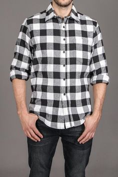 Kevin's Long Sleeve Flannel Shirt