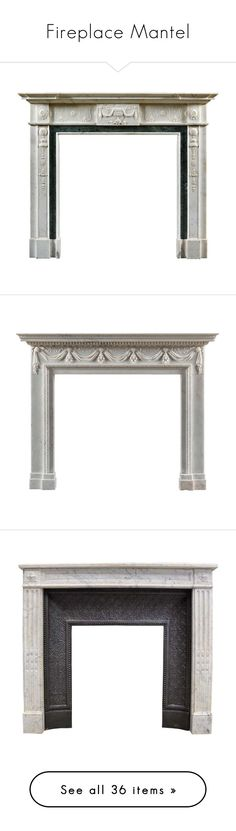 """Fireplace Mantel"" by pati777 ❤ liked on Polyvore featuring home, home decor, fireplace accessories, fireplace, white home decor, white marble statue, marble statues, fireplaces, marble home decor and pink home decor"