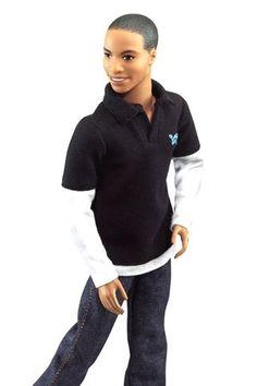 Black ken doll - DARREN