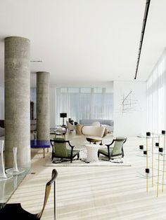 Apartment in New York desigend by Yabu Pushelberg