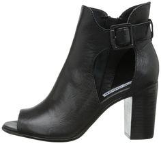 Steve Madden Women's Nextstar Boot, Black Leather, 10 M US : Amazon.com