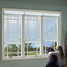 DEZ Furnishing 2 inch Cordless Faux Wood Blind, White - 5 W x 72 L inch, As Shown Home Depot, White Faux Wood Blinds, Store Venitien, Best Blinds, Mini Blinds, Window Blinds, Window Shutters, Shades Blinds, Oak Color