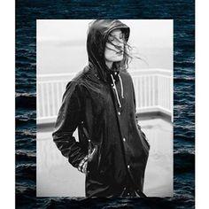 Stutterheim Raincoats Rain Wear, Winter Parka, Ads, Black, Instagram, Boots, Fashion, Raincoat, Rain
