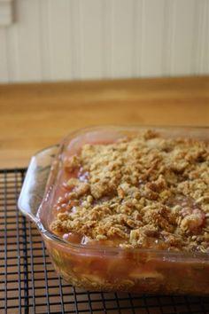 Grandma's Rhubarb Crunch