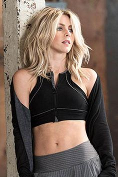 350c17a800dbc MPG Women s Julianne Hough Collection Agami Zip Sports Bra ...