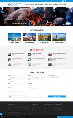 Dự án website Biso đã thiết kế - Biso.vn Website, Laos