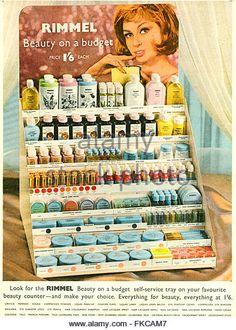 Vintage Rimmel ad (1960s)