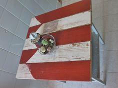 con base de zinc,la Mesa Ferrocarril Sarmiento,tiene el tablero de una barrera estropeada  :)