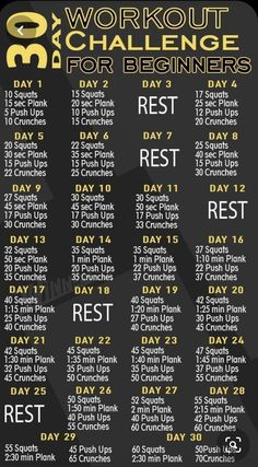 1 Month Workout Plan, 30 Day Workout Challenge, Workout Schedule, Weight Loss Challenge, Challenge Ideas, Monthly Workouts, Bum Workout, Quick Workouts, Core Workouts
