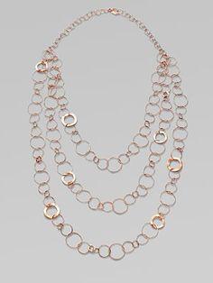 Ippolita Rose Link Necklace