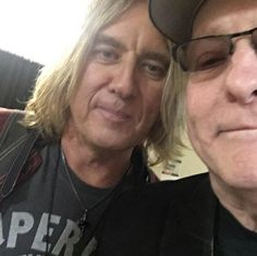 Joe with Rick Nielsen from Cheap Trick 2017