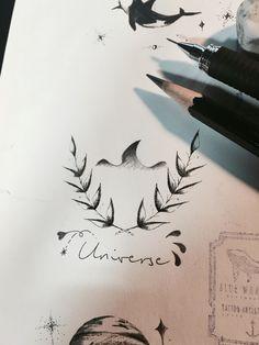 4f0912ff9 Laurels With Shark Tattoo Design, Tattoo Idea From Blue Whale Ink Design by  _park_tae_ Work In Korea, Seoul, Hongdae Kakao: taemin0509 Insta:  _park_tae_ ...
