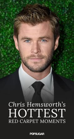 There have been more than a few sexy Chris Hemsworth moments over the years! For your daily dose of eye candy, check out some his most handsome red carpet appearances ever.