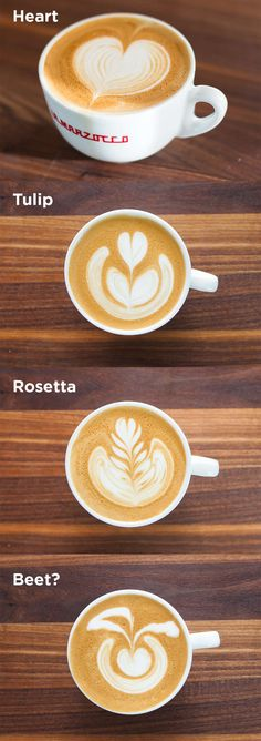 Latte Art: tips, tricks + video | ChefSteps #coffee time Which one do you like the most?