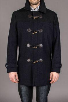 IZOD Long Toggle Wool Coat