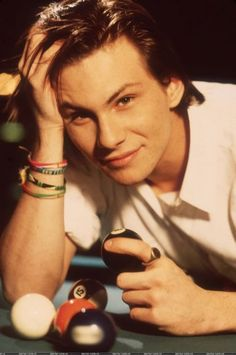 Young Christian Slater,he's kinda not as cute anymore, but he was fine in the 80s