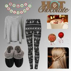 """""""christmas moring"""" by gaby-rodriguez ❤ liked on Polyvore"""