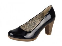 Lovely court shoe from Rieker - Free UK delivery! #Shoes #Rieker
