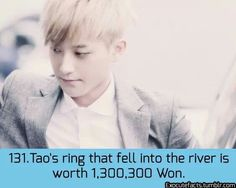EXO Facts | Oh...Now I realize why he made that face.... that's $1,179.91...