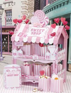 """Stand Sweet Shop """"Rosa"""""""