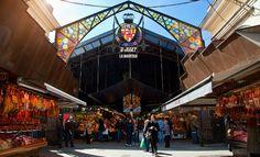 """Mercado """"La Boquería"""" Barcelona, España. Donde todo es absolutamente delicioso además."""