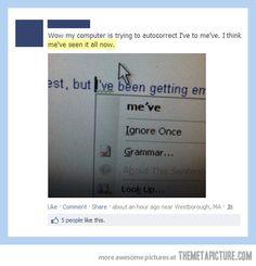Go home auto-correct, you are drunk…
