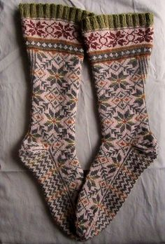 tea with mrs. mourning dove Another gorgeous pair of socks