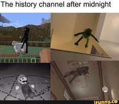 The history channel after midnight iFunny ) is part of Funny memes - The history channel after midnight popular memes on the site iFunny co Stupid Funny Memes, Funny Relatable Memes, Funny Posts, The Funny, Funny Stuff, Hilarious, Random Stuff, History Instagram, History Memes