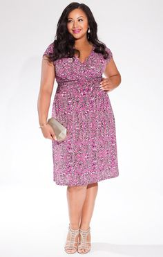 72601db8684d7 Gemma Dress by Igigi. A beautiful fitting plus size dress with a ruched  waist that flows away from the body. Perfect dress fit your curves and wear  to work ...