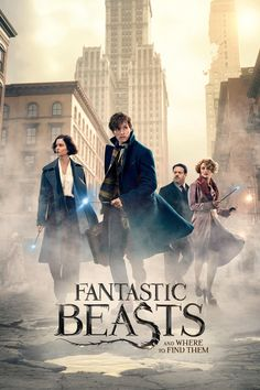 Fantastic Beasts and Where to Find Them is a movie starring Eddie Redmayne, Katherine Waterston, and Alison Sudol. The adventures of writer Newt Scamander in New York's secret community of witches and wizards seventy years before. Hd Movies, Movies To Watch, Movies Online, Comedy Movies, Movie Film, Action Movies, 300 Movie, Fantastic Beasts Movie, Fantastic Beasts And Where