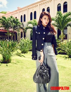 More Of Ha Ji Won In Hawaii For Cosmopolitan Korea's October 2015 Issue | Couch Kimchi