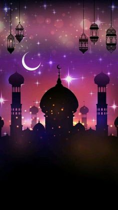 Ramadan is most important occasion for most Muslim individuals. It is also known as the month of blessings and Prayers. It is celebrated all over the world by sending Happy Ramadan 2017 wishes to friends and family. Islamic Wallpaper Iphone, Eid Wallpaper, Wallpaper Online, Wallpaper Iphone Cute, Galaxy Wallpaper, Mobile Wallpaper, Wallpaper Backgrounds, Quran Wallpaper, Mubarak Ramadan