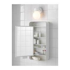 GUNNERN Speilskap med 1 dør - hvit - IKEA