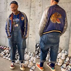 Overalls Fashion, Denim Fashion, Vintage Wear, Vintage Fashion, Men Closet, Street Look, Nigel Cabourn, Menswear, One Piece