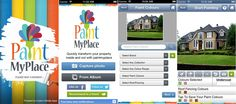 """""""Paint My Place"""" – iPhone and iPod App"""
