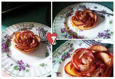 Ricette e Segreti in Cucina : Rose di mela e sfoglia.