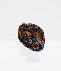 SPECIAL EDITION BEADED TURBAN-Accessories-Party Edit-WOMAN | ZARA United States