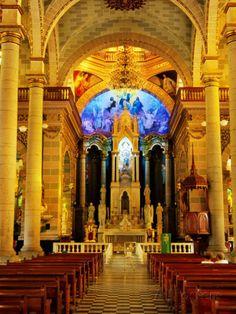 Interior of Cathedral, Mazatlan, Mexico