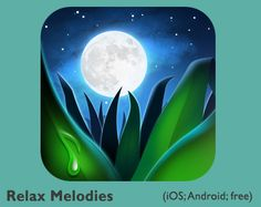 Relax Melodies App ~ I have this on my phone and if I have trouble going to sleep I turn this on and I'm out within minutes and have a restful sleep.