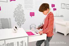 Claudia Schleyer Interaktive Exponate | Interactive Exhibits | House of Change